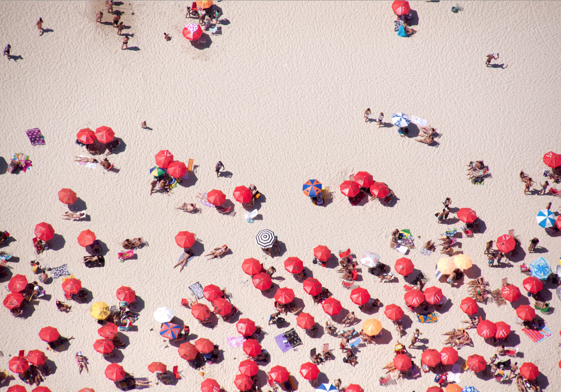 Gray Malin, beaches from above, abstract photography