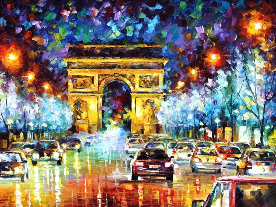 Awesome Artistic Representations Of Paris, The City Of Love