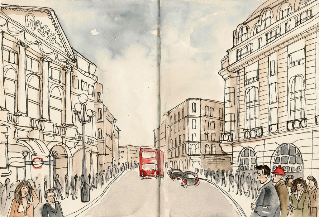 A New City A New Style A Diverse Mix Of Travel Sketches By Sofia Pereira | Wanderarti