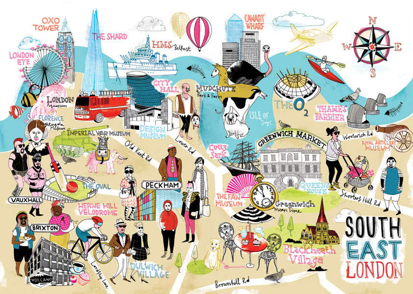 Illustrated Guides To European Cities Wanderarti