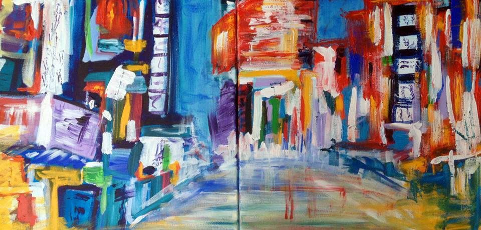 Paintings of Tokyo, art, travel, Asia