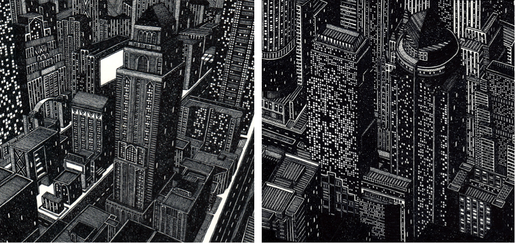 Tom Radclyffe Cities Sketches Drawings Black And White Art