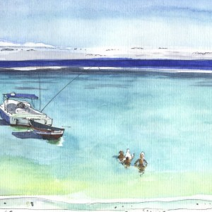 Paintings of Mauritius, travel to Mauritius, art