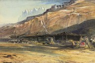 Paintings of Egypt, Edward Lear, landscape artist