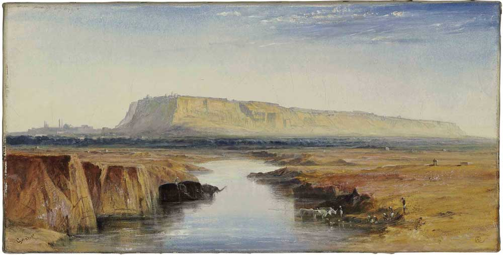 Paintings Of India Edward Lear Landscape Artist