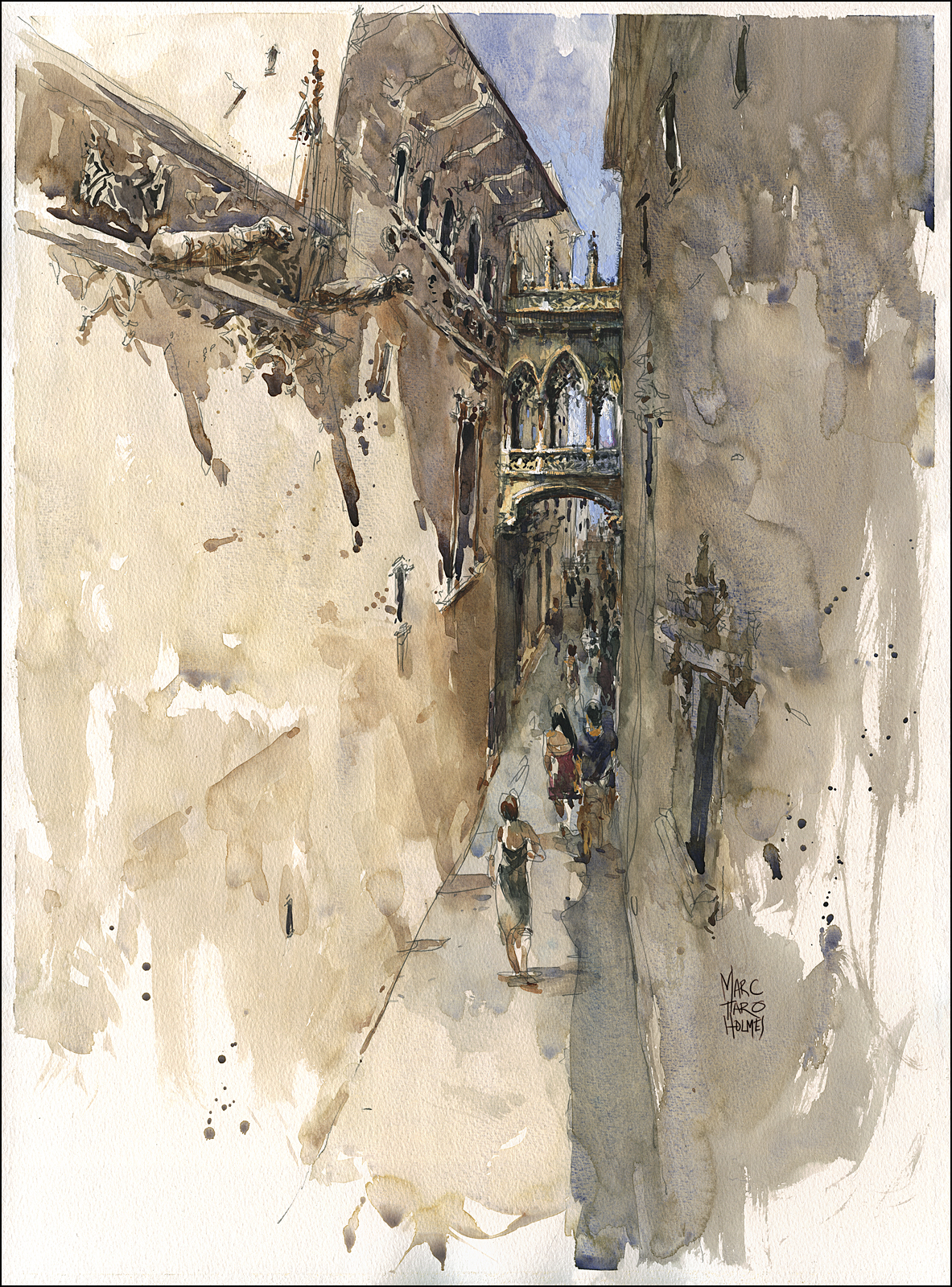 travelling sketch artist, marc holmes, sketching barcelona, what to do in barcelona, travel art