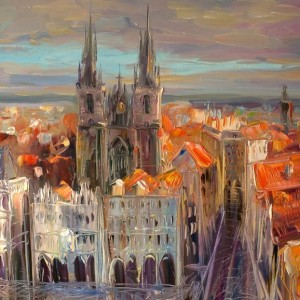 Paintings of Prague, things to know about Prague, travel art