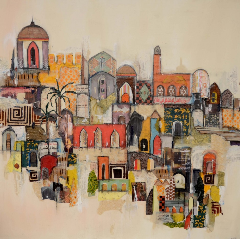 Paintings of marrakech, travel art, Middle East, Morocco
