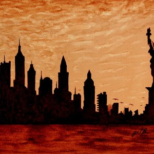 Paintings of New York, travel art