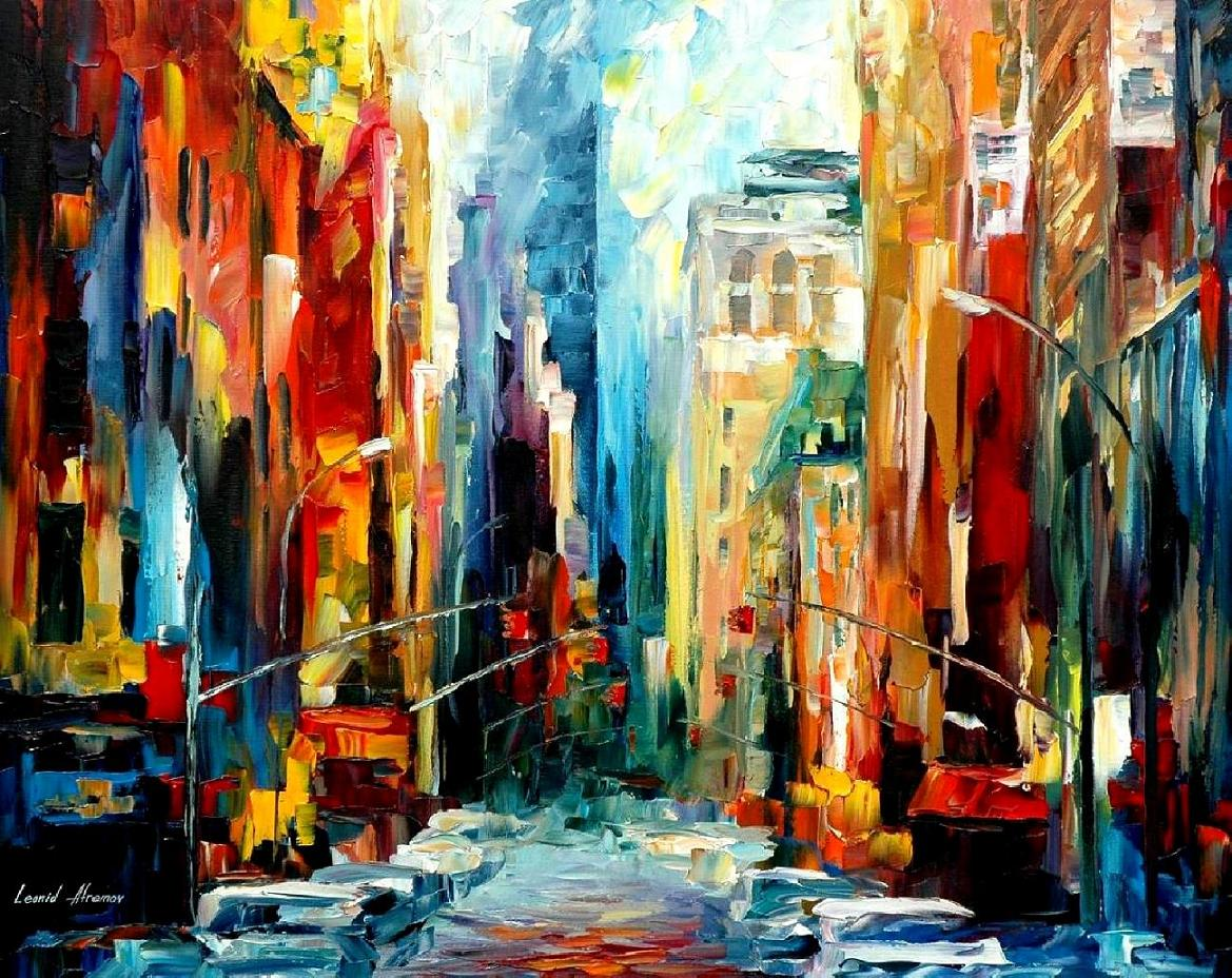 12 creative representations of new york city wanderarti for Creative paintings pictures