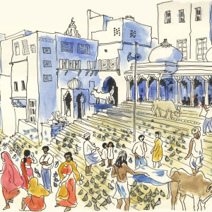 Sketches of Pushkar, India