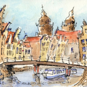 Sketches of Amsterdam