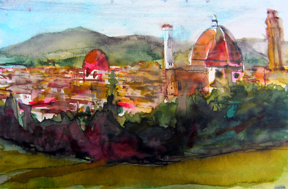 Framing Florence 14 Paintings And Sketches That Will Make