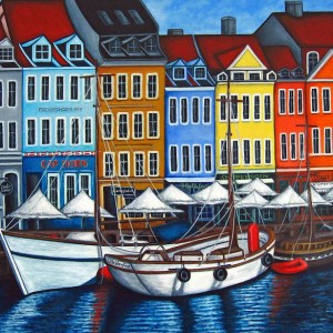 Paintings of Copenhagen
