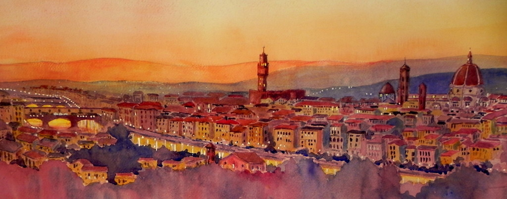 Italian Florence: Framing Florence: 14 Paintings And Sketches That Will Make