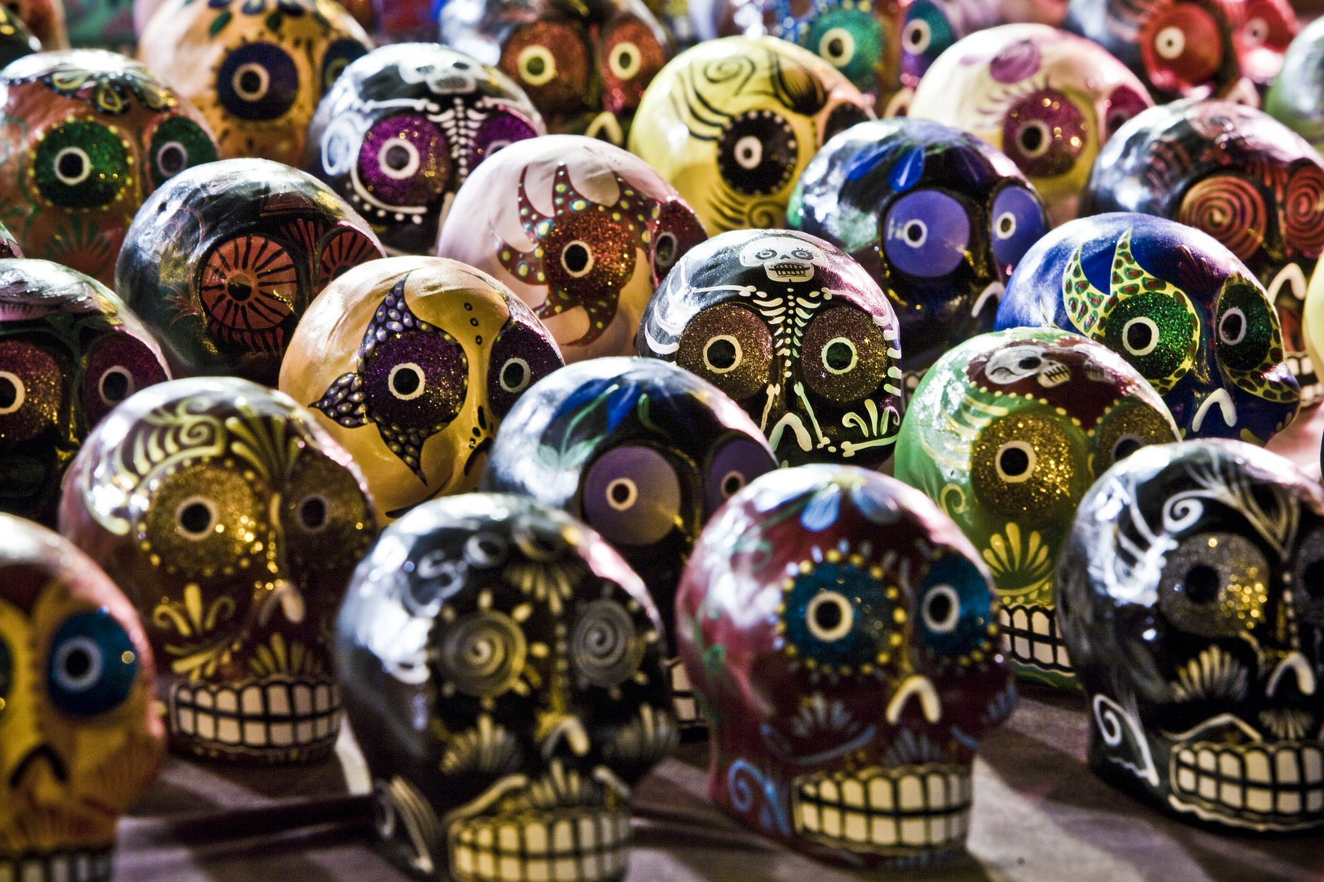 The significance of skulls in art around the world wanderarti to celebrate the dead buycottarizona