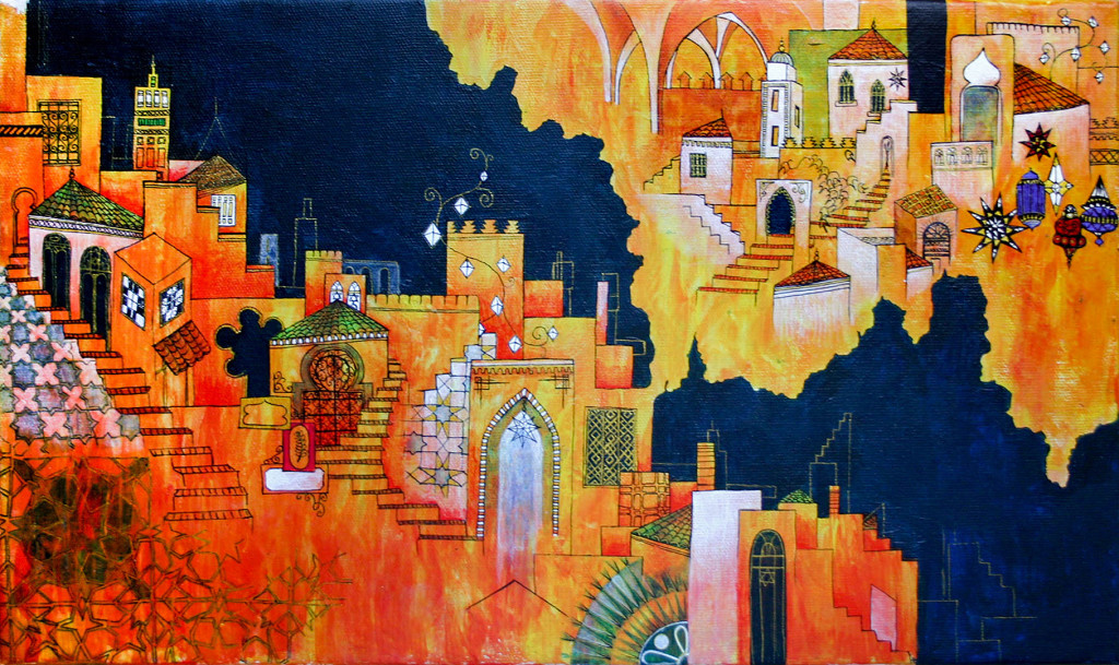 Paintings of Morocco