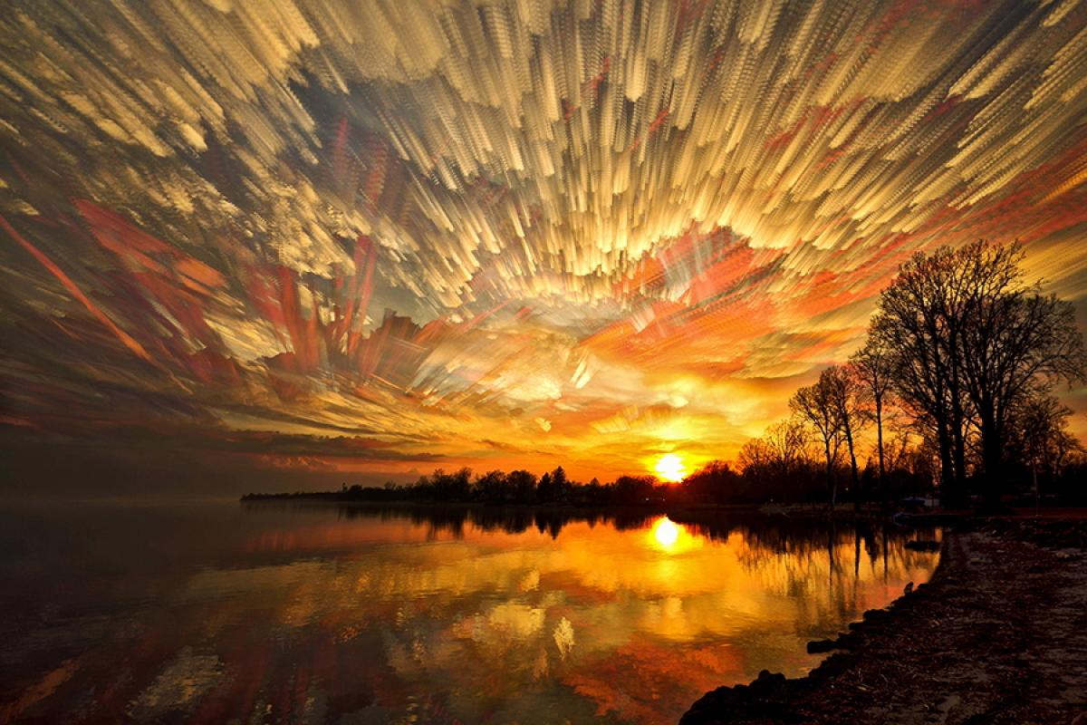 Timelapse Photographs Of Landscapes That Look Like