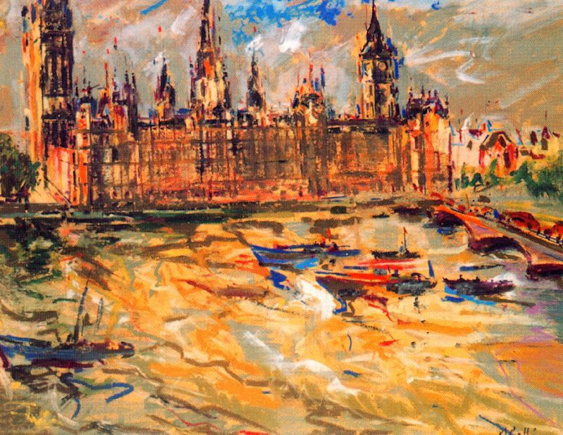 ARTWORKS Archives - The Great Fire of London |Impressionist Fire London