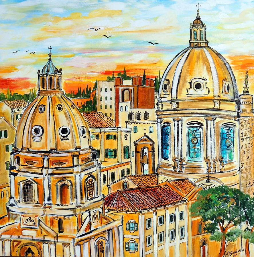The Travel Art Of Rome  Artistic Representations Of Italy